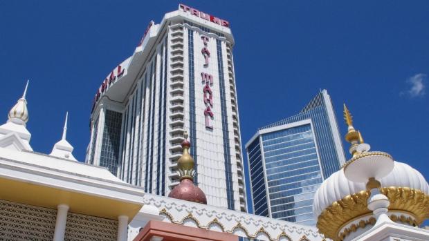 The Trump Taj Mahal casino