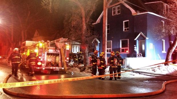 McDermot Avenue Fire