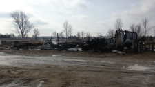 Nine horses dead after a barn fire near Otterville