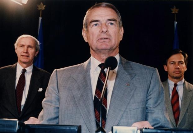 Former Alberta Premier Don Getty