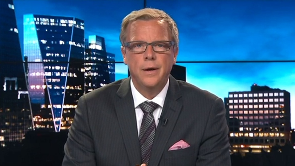 Saskatchewan Premier Brad Wall appears on CTV's Question Period on Sunday, Feb. 28, 2015.