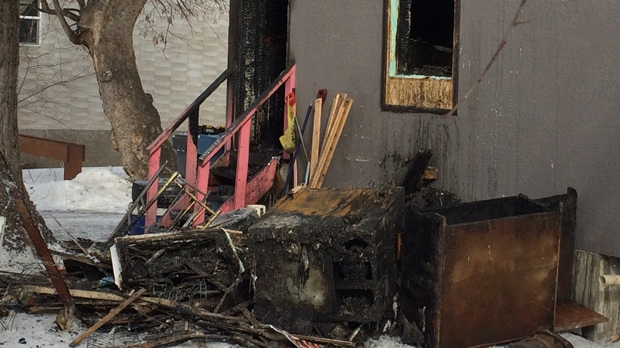 The fire on Alexander Avenue is the second deadly house fire in the inner city in three days.