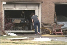Garage fire causes extensive damage on Bostwick