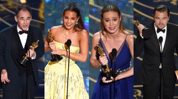 From Chris Rock's antics as host, to the decked out presenters to the emotional wins, check out the highlights from Hollywood's biggest night.<br><br>