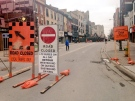 Dundas Street is closed during business hours for the next two weeks for architectural work to Kingsmills on Monday, February 29, 2016. (Gerry Dewan / CTV London)