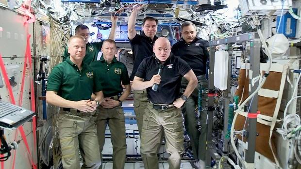ISS Change of Command Feb. 29 2016