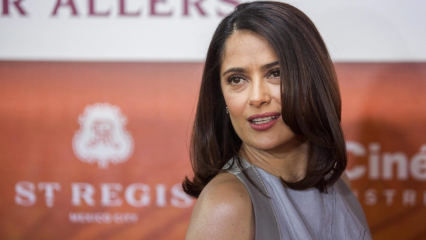Neighbor fired air rifle, unaware it hit Salma Hayek's dog