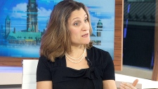 International Trade Minister Chrystia Freeland