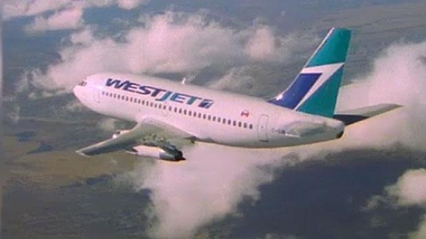 WestJet passengers help subdue man demanding to be let off mid-air