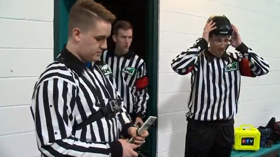 Saskatoon Minor Hockey Association referees