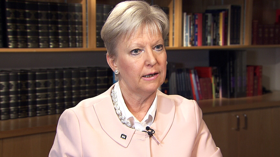 European Union Ambassador to Canada Marie-Anne Coninsx speaks with CTV News on Monday, Feb. 29, 2016.