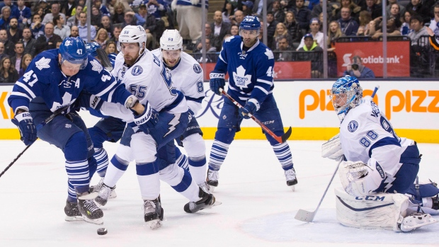 Toronto Maple Leafs on FEb. 29, 2016