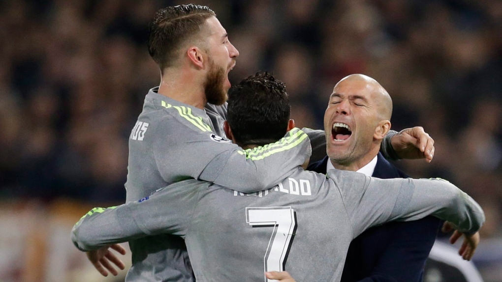 Zidane trying to defuse tensions after Ronaldo's comments | CTV News