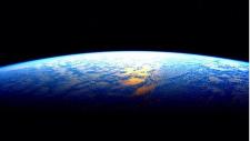 An image of Earth taken by Scott Kelly