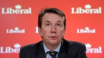 Scott Brison holds a press conference in Ottawa, on Wednesday, March 4, 2015. (THE CANADIAN PRESS/Fred Chartrand)