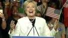 CTV News Channel: Clinton speaks to supporters