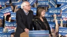 CTV News Channel: Sanders speaks to supporters