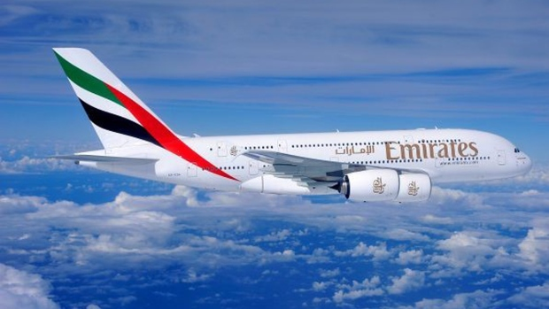 Emirates airlines Airbus A380-800