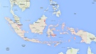 This image from Google Maps shows Indonesia (Google Maps)
