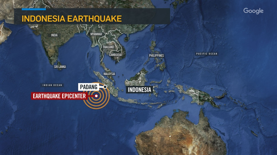 powerful shallow earthquake hits sumatra in indonesia