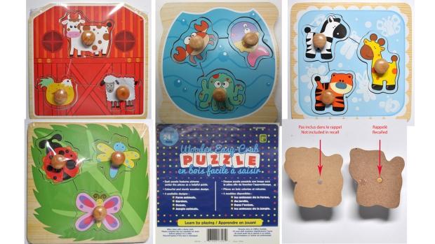 Recalled puzzles