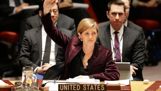 U.S. Ambassador Samantha Power votes