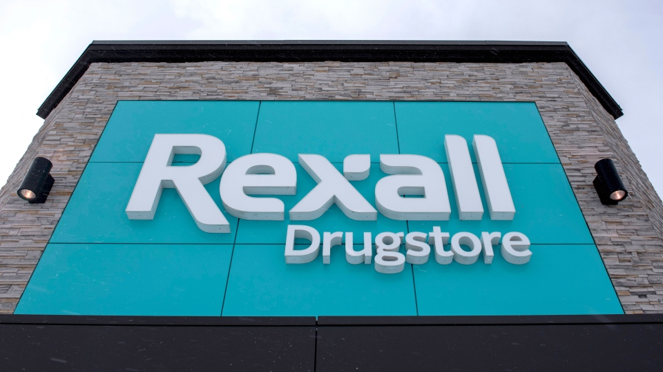 A Rexall drugstore is shown in Ottawa, on Wednesday, March 2, 2016. (THE CANADIAN PRESS/Justin Tang)