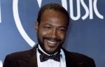 "In this Jan. 17, 1983 file photo, singer-songwriter Marvin Gaye, winner of Favorite Soul/R&B Single, ""Sexual Healing,"" attends the American Music Awards in Los Angeles. (AP Photo/Doug Pizac)"