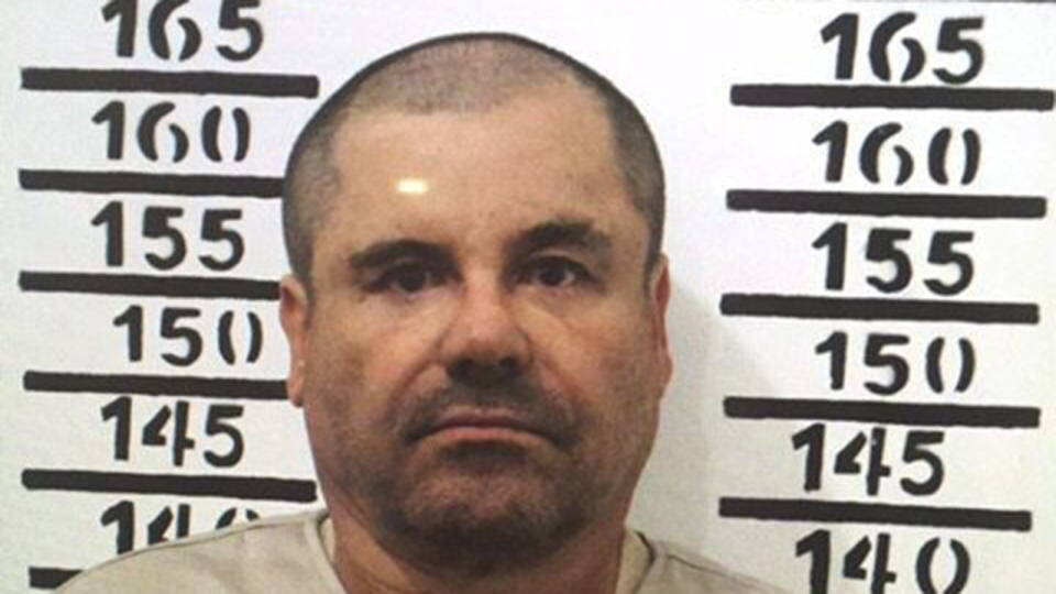 In this Jan. 8, 2016, file image released by Mexico's federal government, Mexico's most wanted drug lord, Joaquin