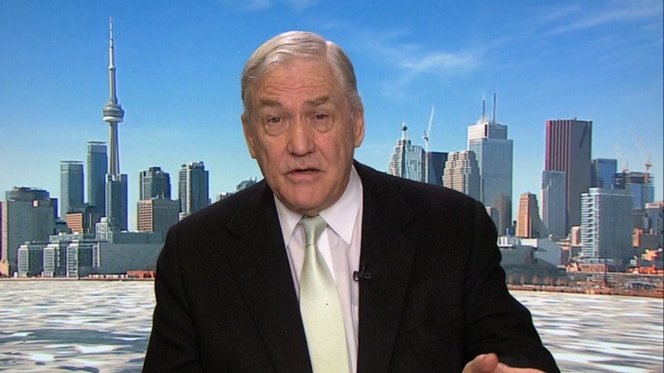 Conrad Black makes an appearance on CTV's Power Play on March 2, 2016
