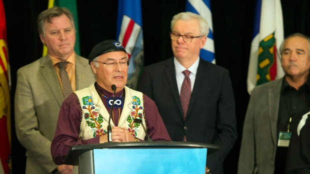 President of the Metis National Council Clement Ch