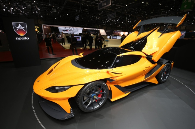Apollo Arrow Supercar Can Hit 360km H Only 100 Will Be