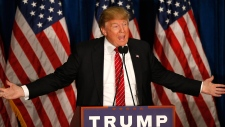 Republican presidential candidate Donald Trump