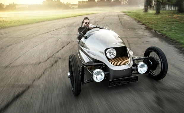Morgan EV3 electric three-wheeler