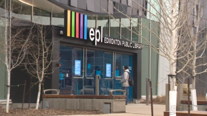 The Edmonton Public Library is opening access to some in-person library services such as computers, printing and photocopying.