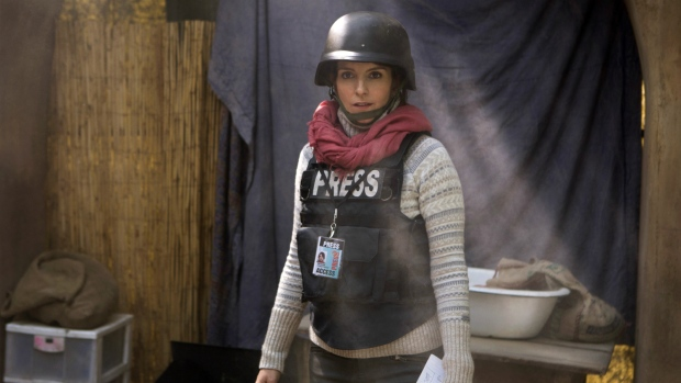 Tina Fey in 'Whiskey Tango Foxtrot.' (Frank Masi / Paramount Pictures and Broadway Video / Little Stranger Productions)
