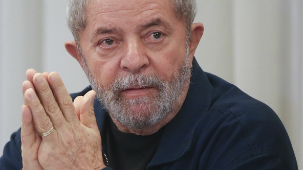 Brazil's former President Luiz Inacio Lula da Silv