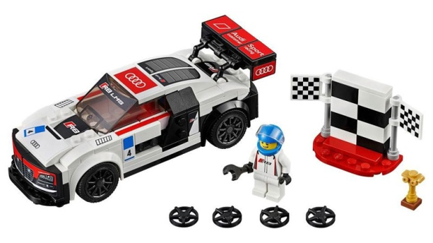 Lego has released two Audi racers