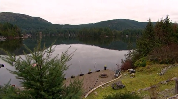 Shawnigan Lake on Vancouver Island