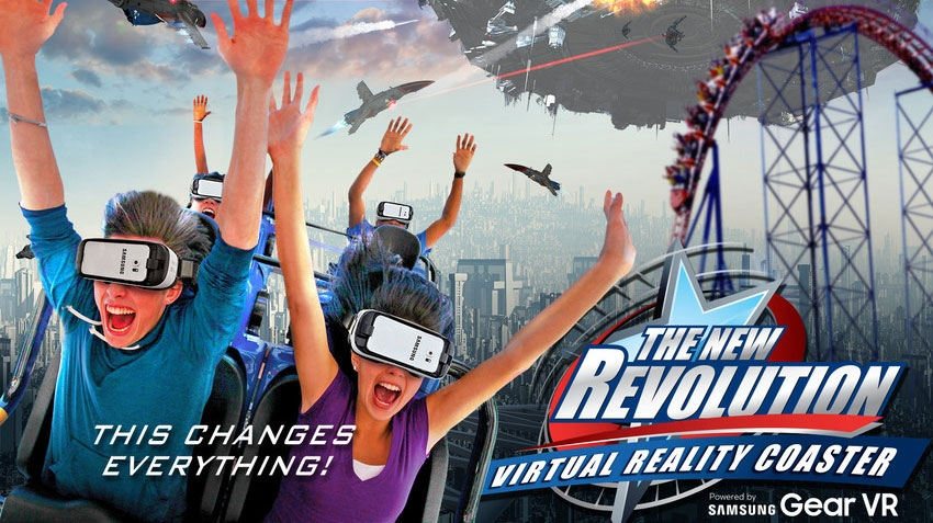 La Ronde's planned new roller coaster Goliath will be Canada's first to incorporate virtual reality technology. (photo via La Ronde)