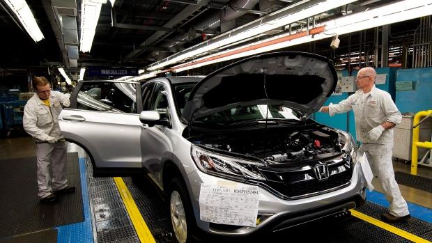 Honda plant in Alliston