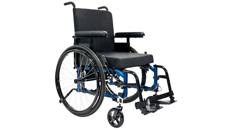 Jillian McIntosh's wheelchair is a custom-built Helio Ultralight Manual chair worth about $6,000. (CTV)