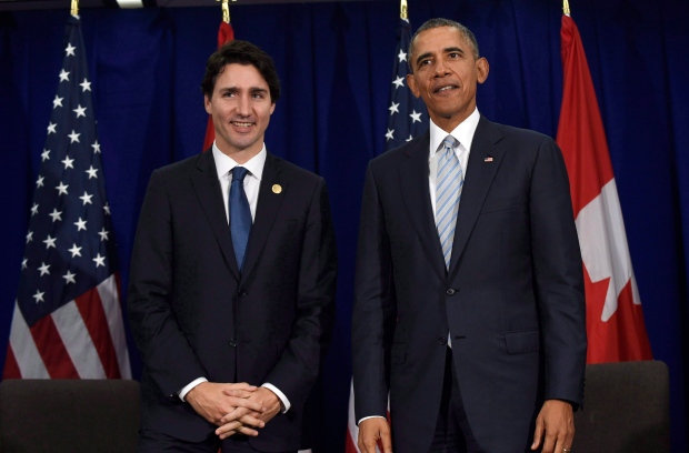 President Barack Obama and PM Trudeau