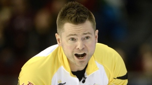 Mike McEwen, along with Brad Gushue and American John Shuster, has a 2-0 record at the 2017 Champions Cup in Calgary. (File image)