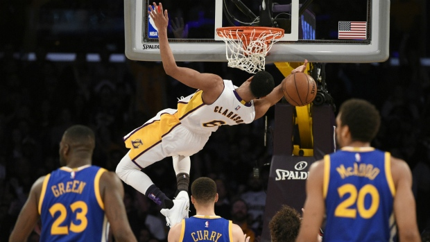 NBA scores: Lakers stun Warriors with 112-95 win | CTV News