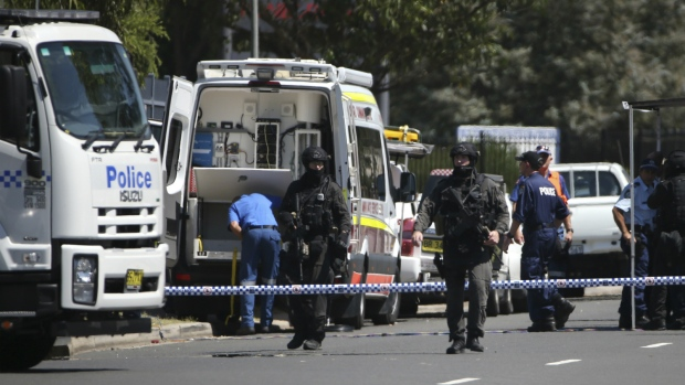 Police respond to shooting in Sydney