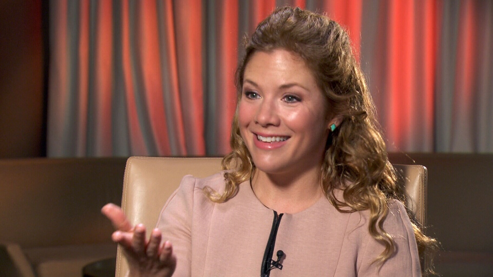 Sophie Gregoire-Trudeau sits down with Marci Ien on Canada AM.