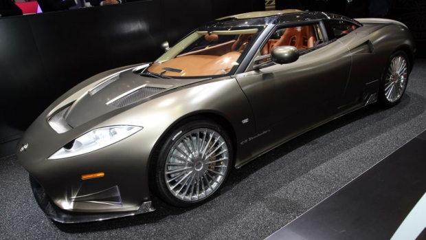 The Spyker C8 Preliator
