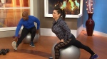 Canada AM: Exercising with stability balls