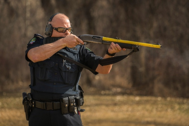 Lethbridge Police Service repurposed shotgun